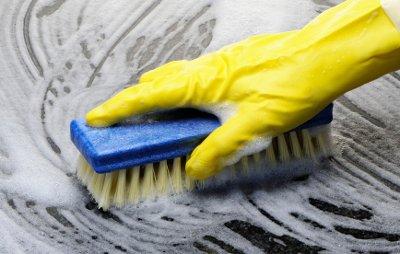 Floor Scrubbing & Sterilizing