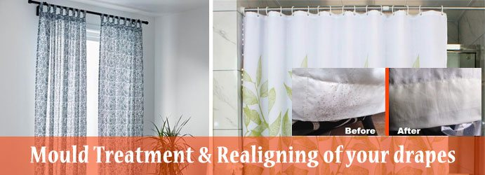 Mould Treatment & Realigning of your drapes