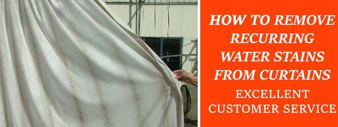 Remove Water Stains From Curtains Melbourne